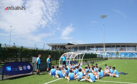 Manchester City Football and Language Camp, Verbalists