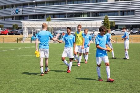 Man City Academy training sessions, Patrick Zanella, Verbalists