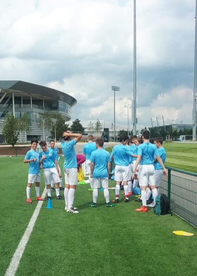 Man City Academy training sessions, Patrick Zanella