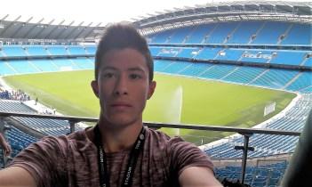 Patrick at Man City Etihad stadium, Verbalists
