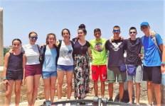 Iva Ivanisevic na Malti, polaznici jezičke mreže