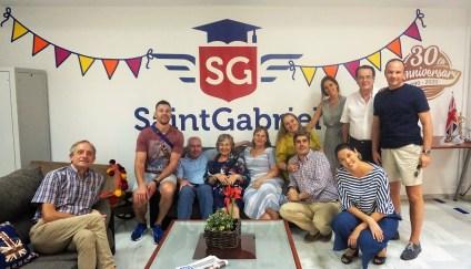 Fam trip and visiting Saint Gabriel Spanish language school in Seville