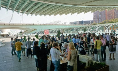 Lunch in the City of Arts and Sciences, Valencia