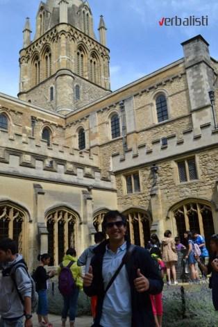 My OXFORD 2013, Verbalisti