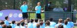 Interaktivna nastava i učenje engleskog u učionici i na terenu, škola fudbala Manchester City