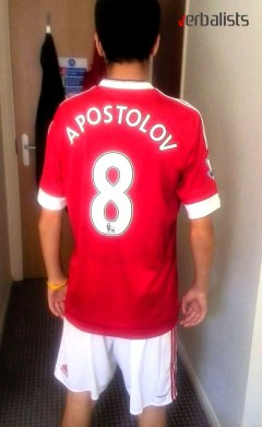 Slavko Apostolov in Manchester United Soccer and Language School, Verbalists