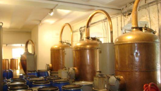 Copper stills for perfume