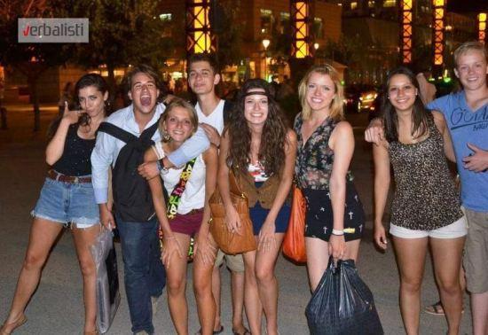 Verbalisti students in Barcelona