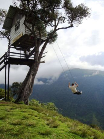 The advanterous swing