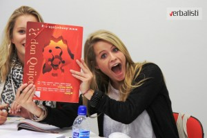 Spanish courses in Spain in Don Quijote school, Verbalisti