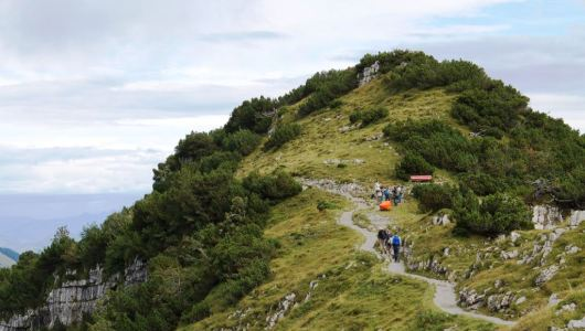 Your trek up the northern Alps