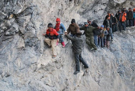 125-Mile Journey To A Boarding School Through The Mountains, Pili, China