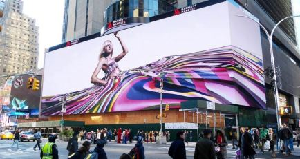 New York City Times Square digital billboard