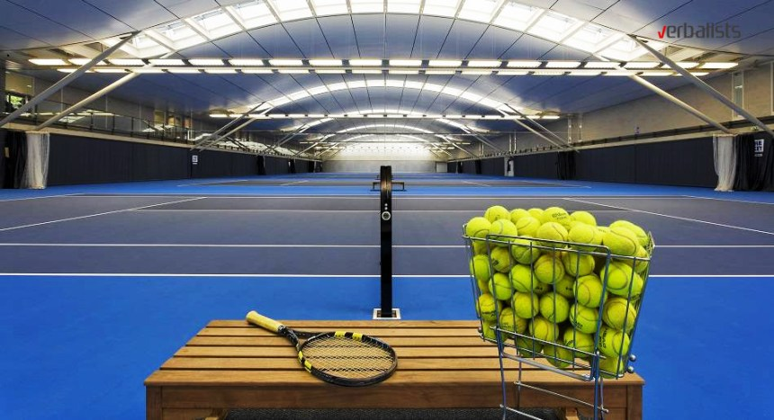 Tennis centers in England