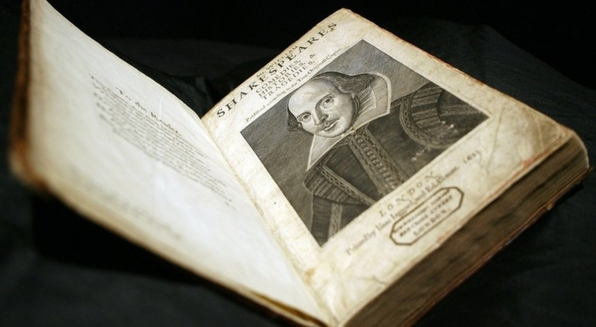 Shakespeare First Folio was discovered on Scottish island