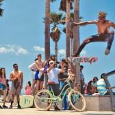 Verbalists enjoying the famous Venice Beach