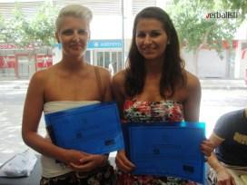 Daliborka (desno), maj 2013, Verbalisti