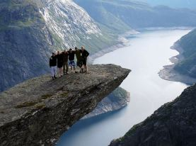 Trolltunga in Hordaland