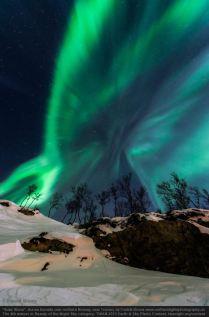 Solar Storm - Aurora borealis