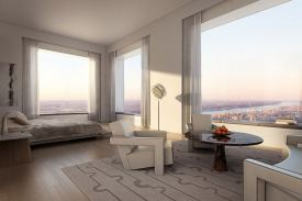 The tower at 432 Park Avenue - bedroom