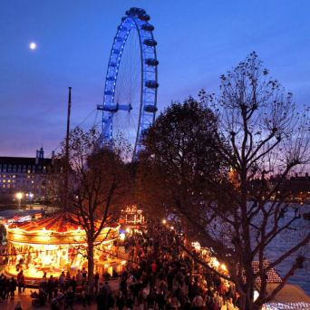 London Southbank Christmas Market