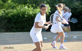 Nike Tennis Camp and Verbalists Language Network