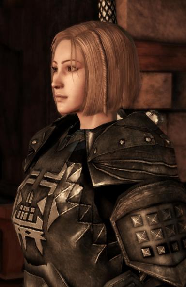 Elissa Cousland - Warrior Noble Grey Warden