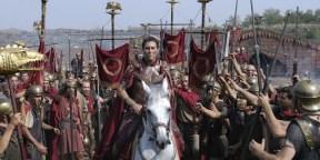 L'attore Ciaran Hinds nella serie tv HBO ROME( 2007) Wikipedia