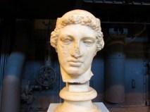 Testa di Perseo o Mercurio, metà V sec a.C, Centrale Montemartini Roma