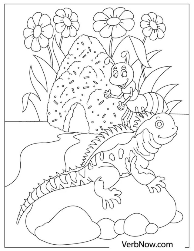 Free Coloring Pages and Books to Download or Print (PDF) - VerbNow