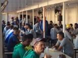 Dias 06 a 10 abril15, Cafés da manhã e almoços em Macaé, MRV (44)