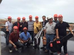 Equipe Evangelística em Macaé, dias 07 a 10abril15 (1)