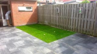 Nieuwe tuin in Hardinxveld-Giessendam