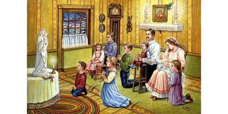 ołtarzyk domowy