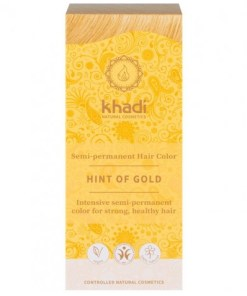 Herbal Color Khadi Rubio Toque Dorado 100 Gr