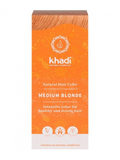 Herbal Color Khadi Rubio Medio 100 Gr