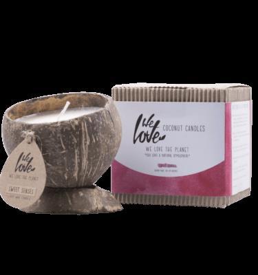 Coconut Candles Sweet Senses 100% Soja
