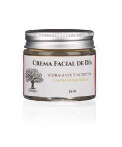 Crema facial de día hidratante con protección solar 15 SPF
