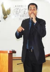 Durante su visita al Centro Cristiano El Elyon, el Dios Altísimo, en Porlamar