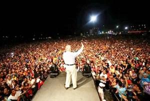 Unas 4 mil personas decidieron reconciliarse con Dios ante el mensaje de Palau