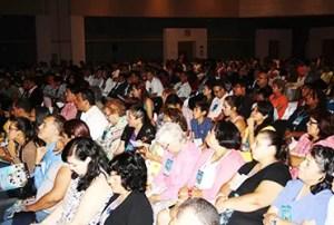 El Centro de Convenciones de Cancún reunió a ministros cristianos y líderes de más de 60 naciones