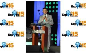 El pastor Tommy Moya tuvo una buena exposición durante la plenaria del sábado 02 acerca de la caída y levantamiento.