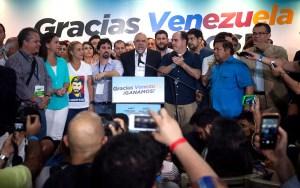 La Mesa de la Unidad Democrática resultó ganadora en los comicios del 6D / EFE