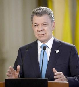 El presidente de Colombia, Juan Manuel Santos, declaró que las autoridades no han impuesto la ideología de género / EFE