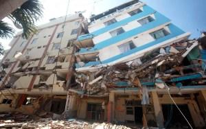 Manta fue una de las zonas más afectadas por el terremoto de 7,8 en la escala de Richter / EFE