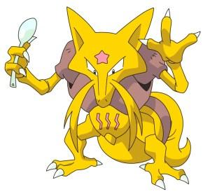 Pokémon Abra Kadabra