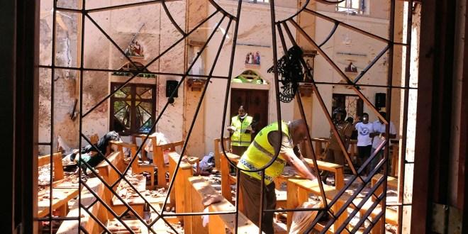 Atentados terroristas en Sri Lanka dejan casi 360 muertos