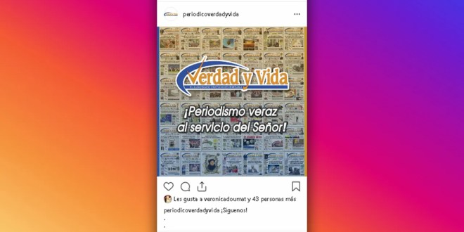 Verdad y Vida en Instagram