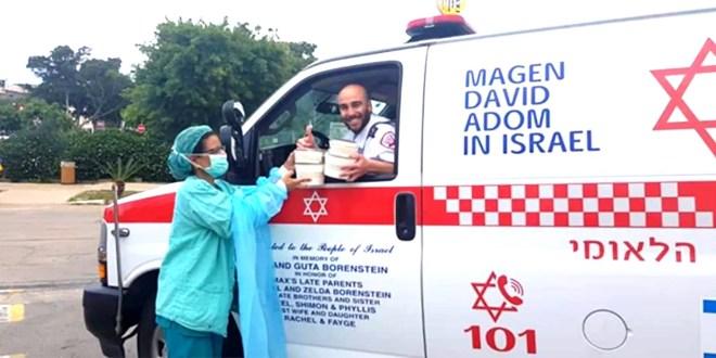 Iniciativa israelí pone en contacto a sanitarios necesitados con ciudadanos que quieren ayudar