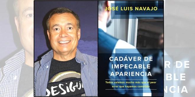 'Cadáver de impecable apariencia', nuevo libro de Navajo